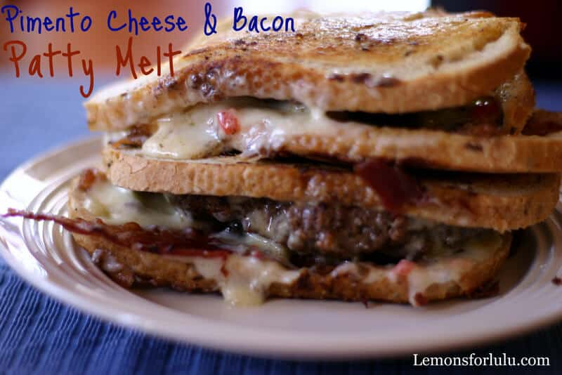 Pimento Cheese & Bacon Patty Melt