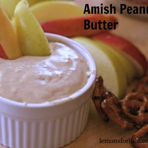 Amish Peanut Butter www.lemonsforlulu.com