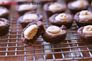 Buckeye Cookie Bites www.lemonsforlulu.com