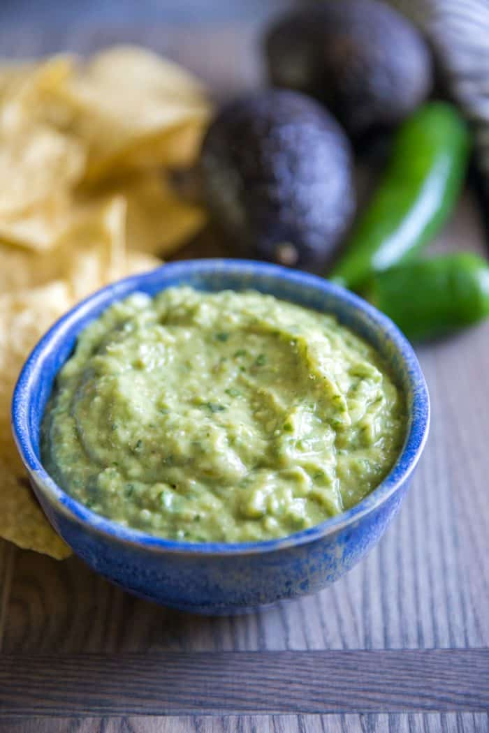 green salsa plain