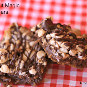 Hazelnut Magic Layer Bars