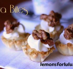 Baklava Bites | lemonsforlulu.com