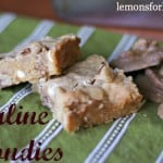 Praline Blondies