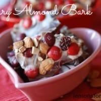 Cherry Almond Bark