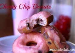 Cherry Chip Donut