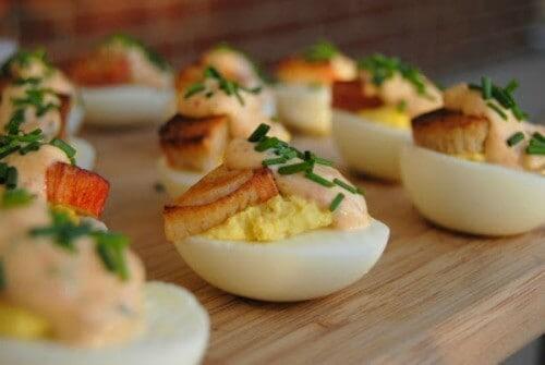 Crab and Chipotle Aioli Deviled Eggs 02