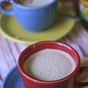 A simple, sweetened twist on traditional espresso!