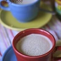 Espresso with creamy white chocolate! And indulgent treat! lemonsforlulu.com