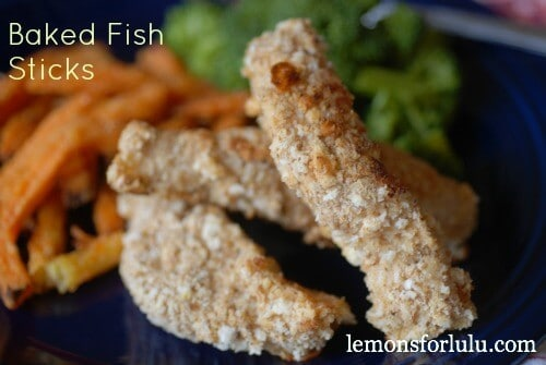 Baked Fish Sticks