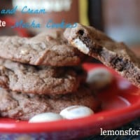 Kahlua and Cream Chocolate Cookies