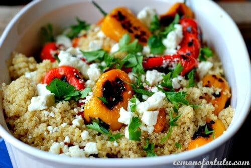 Quinoa with Roasted Peppers