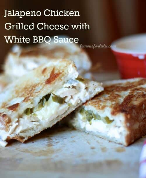 Jalapeno Chicken Sandwich with White BBQ Sauce