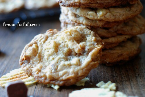 Salty Sweet Potato Chip Cookies