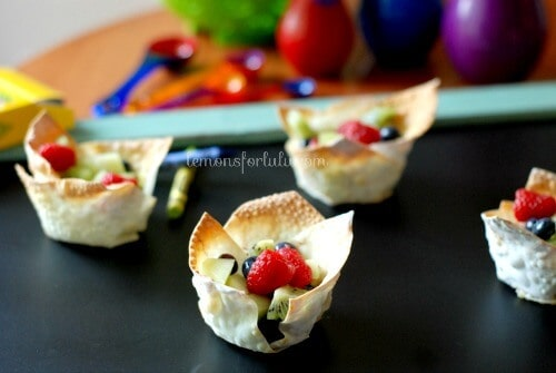 Cinnamon Sugar Fruit Cup