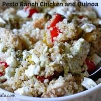 Pesto Ranch Chicken and Quinoa