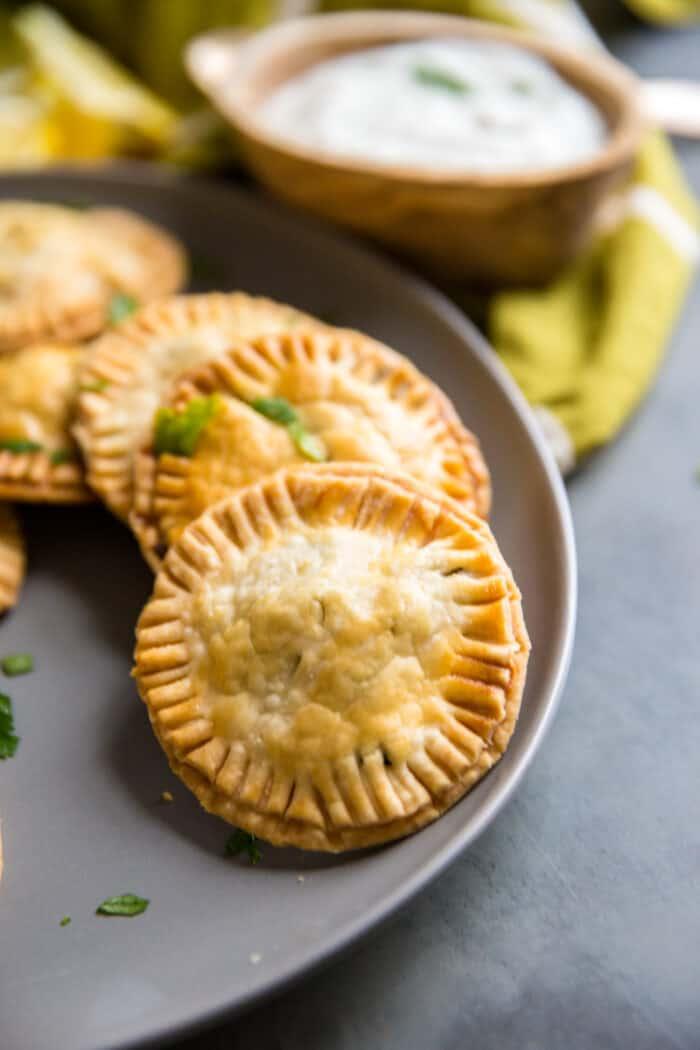 greek hand pies pie dough