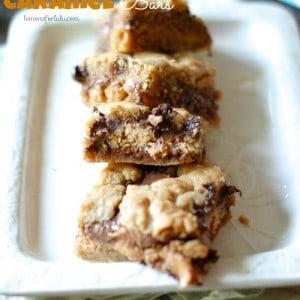Peanut Butter Caramel Bars