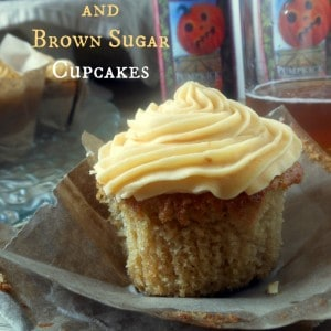Pumpkin Beer and Brown Sugar Cupcakes www.sugardishme.com