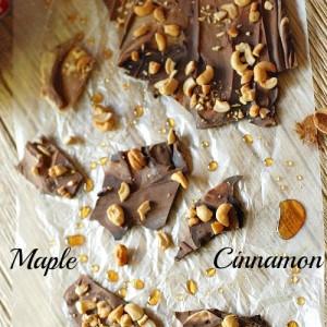 White chocolate and semi sweet chocolate swirled together with chopped cashews! www.lemonsforlulu.com