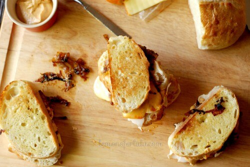 A gourmet twist on a classic deli sandwich! www.lemonsforlulu.com
