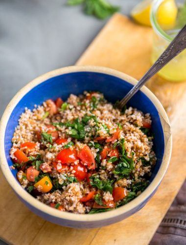 Tabbouleh recipe combined