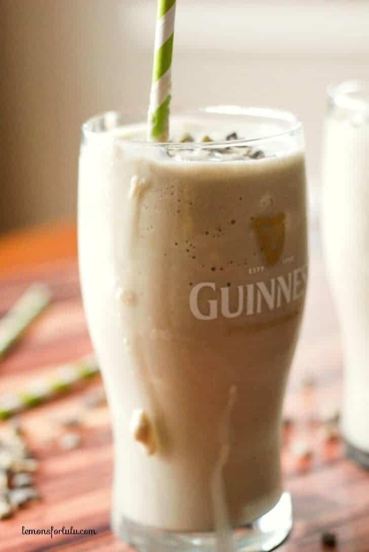 Guinness milkshake www.lemonsforlulu.com