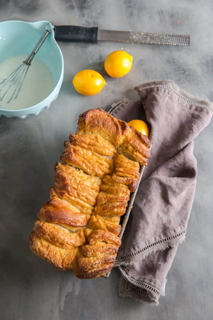 unglazed lemon poppy seed bread