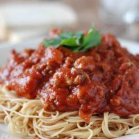 No-Fuss Meaty Marinara
