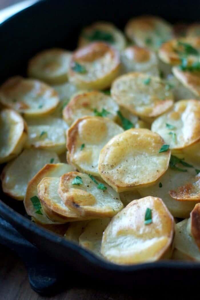 Potatoes Anna-simple baked potatoes! www.lemonsforlulu.com