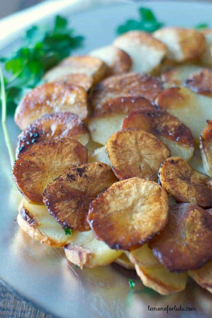 Simple and elegant potatoes! www.lemonsforlulu.com
