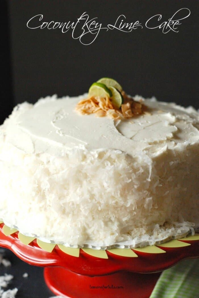 Mary Berry Lime And Coconut Cake