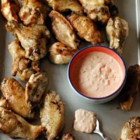 Grilled Chicken Wings Recipe with Spicy Comeback Sauce