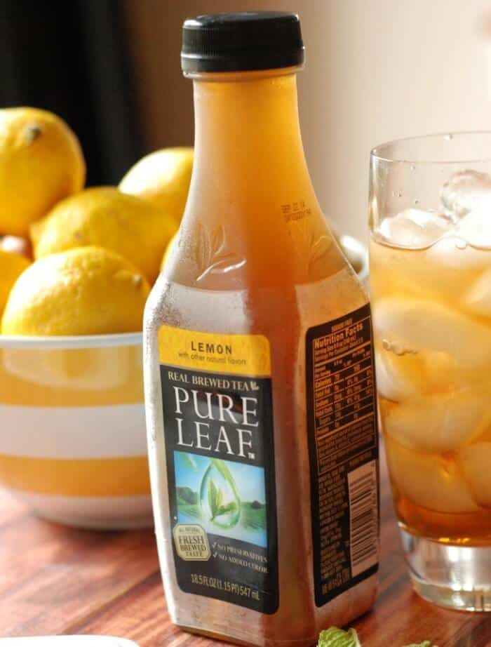 Sweet Tea Lemon Bar Tea Pic