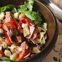 Antipasto Salad with Feta Vinaigrette