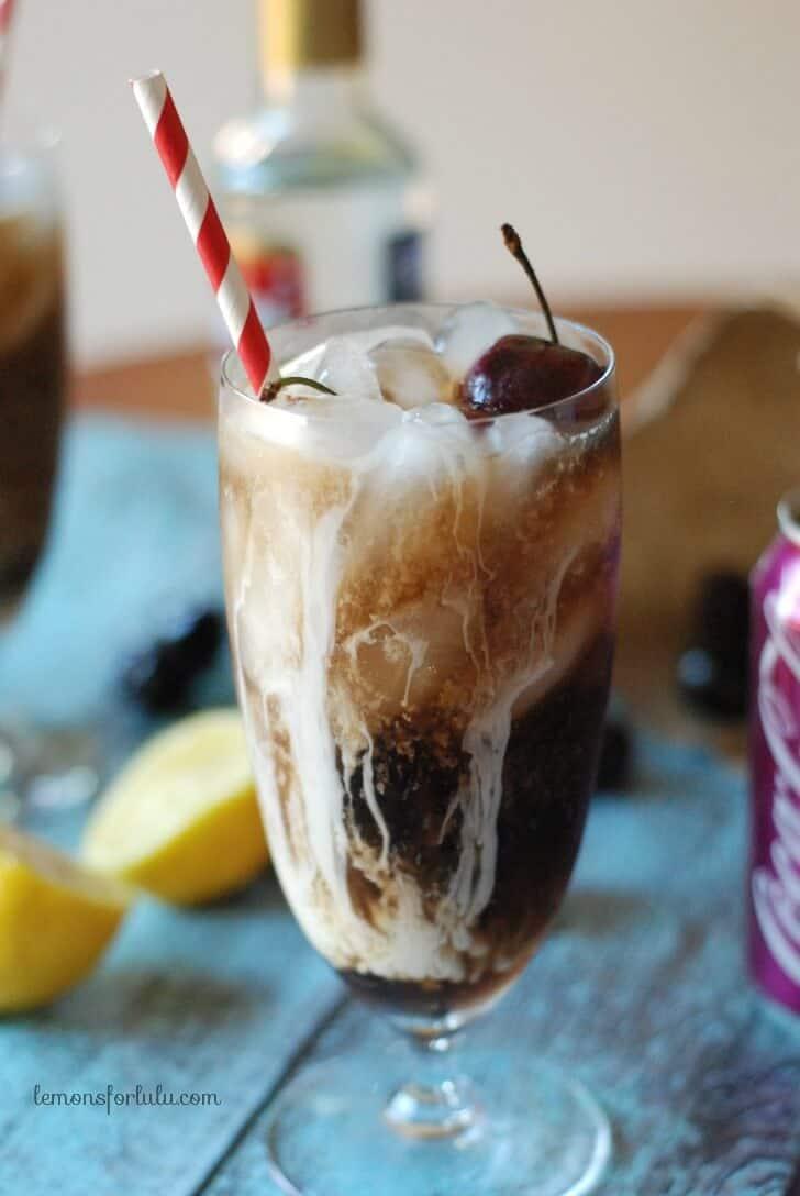Dirty Cherry Coke {Lemons for Lulu}