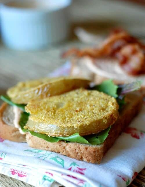 Fried Green Tomato BLT Pic 1