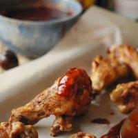 Cherry Kahlúa BBQ Sauce with Chicken Drumettes