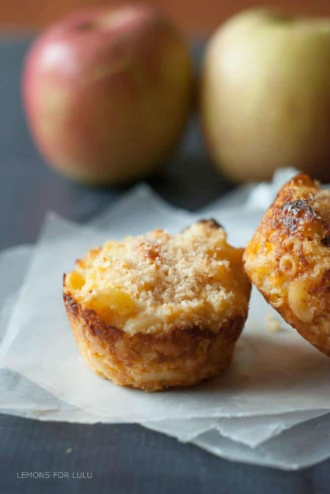 Easy Baked Macaroni and Cheese Muffin Cups on Meal Plans Made Simple via Lemons for Lulu