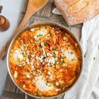 Mediterranean Breakfast Egg Bake