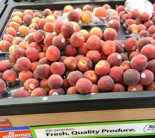 Walmart Peaches
