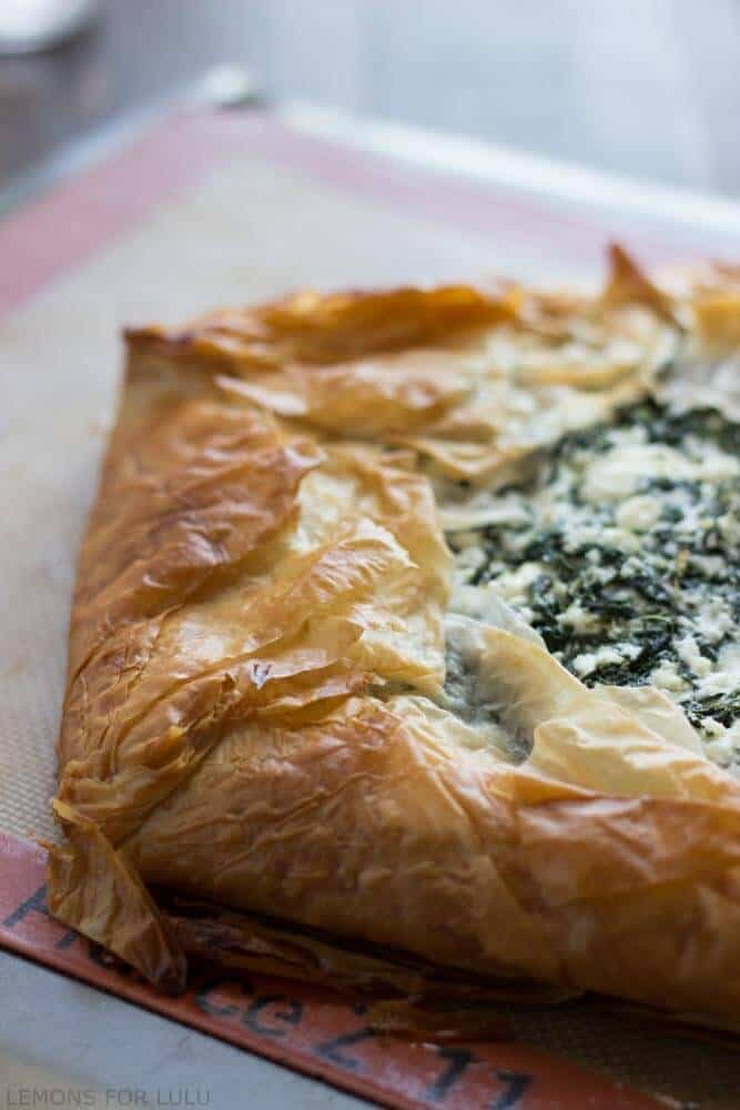 Spanakopita (Spinach & Feta In Phyllo) Recipes — Dishmaps