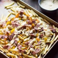 Philly Cheese Steak French Fries