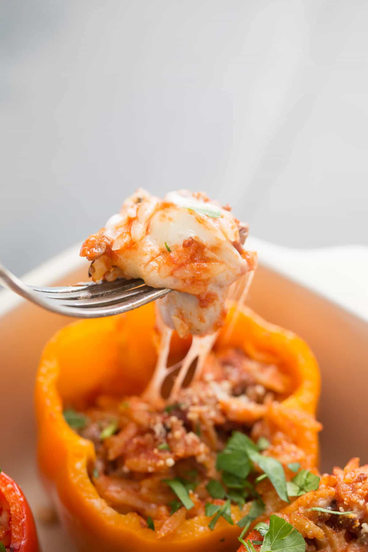 Love stuffed peppers? Then these Italian Stuffed Peppers are a must try!