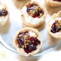 Lemon Blueberry Mini Pies