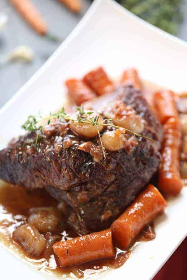 Spice And Herb Oven-Braised Brisket Recipe — Dishmaps