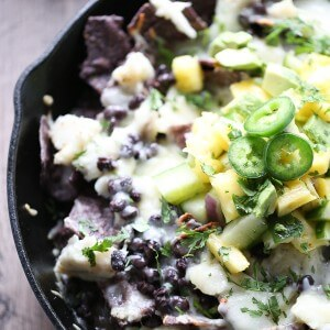 Talipia covered skillet nacho recipe makes for a quick and easy meal! lemonsforlulu.com #bbsuperfreshfan