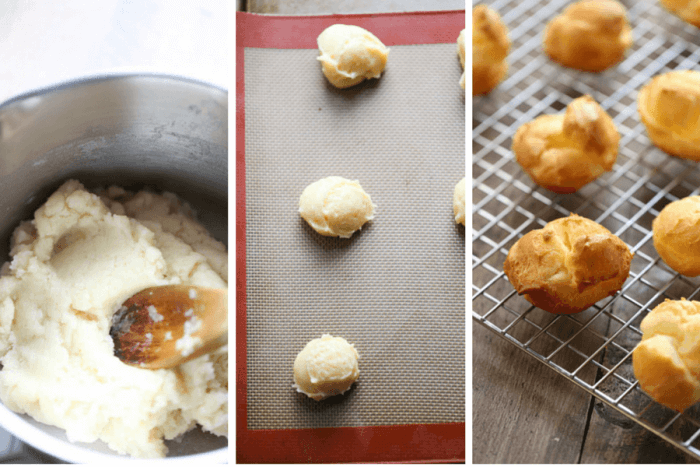 Profiterole Recipe Instructions