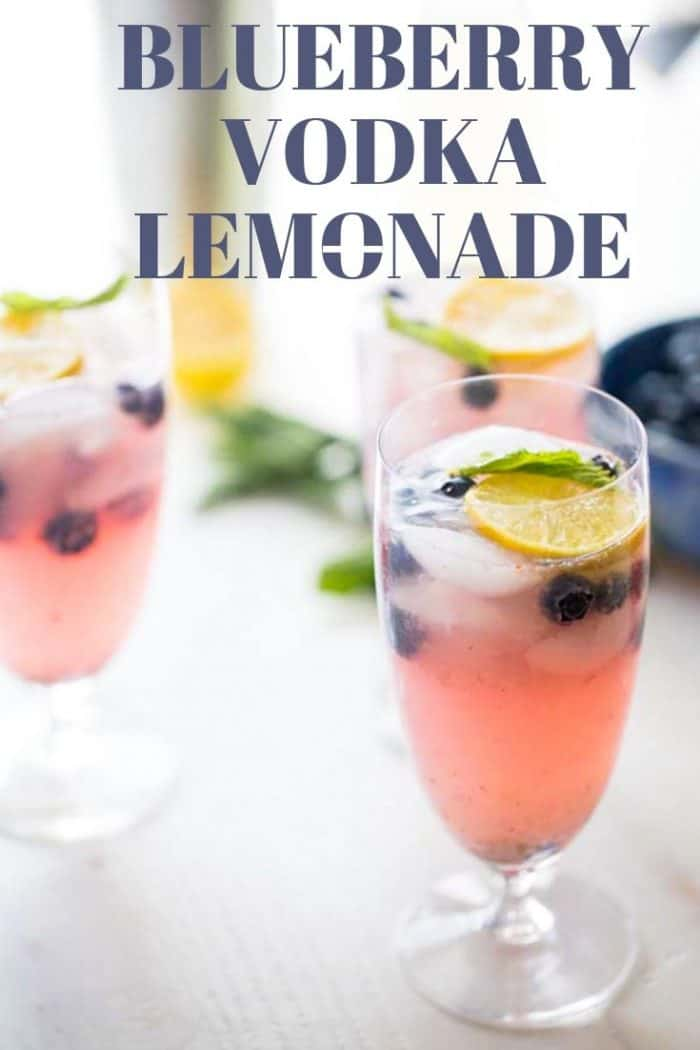 Blueberry Vodka Lemonade Lemonsforlulu Com