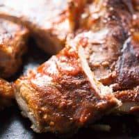 Chili Garlic BBQ Ribs