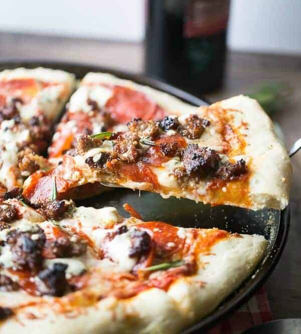 Big jessica pizza sausage